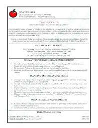 Teaching Resume Examples Enchanting Example Of Sample Resume Sample Resume For Teachers Teachers Resume