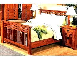 Craftsman Style Bed Mission Bedroom Furniture – Nivedh