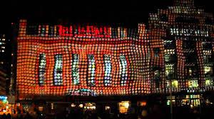 Inner Harbor Light Show Baltimore Inner Harbor Light Show