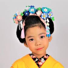 七五三 舞妓スタイル Hairmake Opsisオプシスのヘアスタイル 美容
