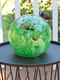 Solar Glass Spirit Orb Solar Globe Light Gardeners Supply