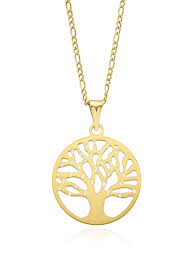 tree of life gold pendant zamels