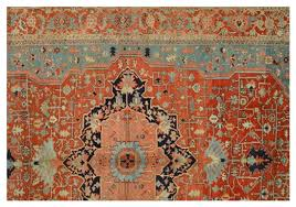 what are the design elements in an oriental rug
