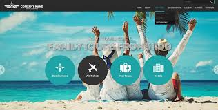 Travel Templates Travel Agency Free Bootstrap Website Template Gridgum