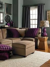 Small Picture A cozy Christmas living room The purple walls are nice My