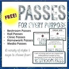 Visitor Pass Template Free