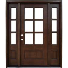front door with sidelightSingle door with Sidelites  Front Doors  Exterior Doors  The