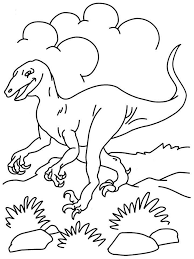 Small Picture Dinosaur coloring page printable