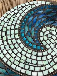 stained glass mosaic round wall