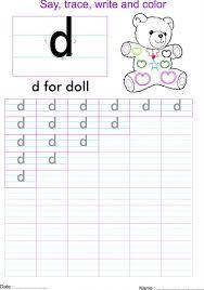 Kids. letter d worksheets: English Small Letter D Worksheet D ...
