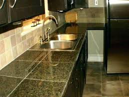 covering tile countertops d cover thin quartz with laminate ugly