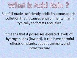 acid rain ppt