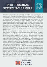 Personal Statement Grad School Samples Phd Personal Statement Sample On Pantone Canvas Gallery