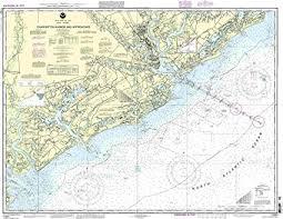 Charleston Nautical Chart Noaa 11521 Charleston Harbor And Approaches
