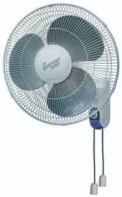 oscillating wall fan. 16\u2033 Wall Mount Oscillating Fan