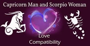 Scorpio And Capricorn Compatibility Chart Capricorn Man And Scorpio Woman Love Compatibility