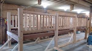 cedar bridge custom built wooden