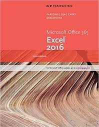 Brown Microsoft Office New Perspectives Microsoft Office 365 Excel 2016 Intermediate
