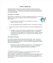 Construction Minutes Templates Free Sample Example Format Management