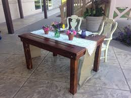 Wine Barrel Kitchen Table Farm Tables Farm Benches Chairs Sweetheart Tables Table Tops