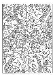 Pretty Patterns Plant Flowers Adult Coloring Pages