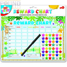 Kids Create Reward Chart