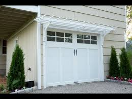 garage door arborHow to Build a Garage Pergola  This Old House  YouTube