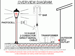 diy outdoor lighting transformer light bulbs outdoor christmas photocell light switch wiring diagram additionally photocell wiring