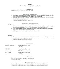 Career Resume Format Combination Resume Career Change Resumes