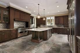Marble Kitchen Floor Tiles Kitchen Floor Tile Ideas With Oak Cabinets Blue Design Accent