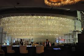 the lower level of the chandelier bar at cosmopolitan of las vegas re opened over the weekend after a two week makeover and as eater vegas warned