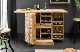 Casa Padrino Designer Bar Cabinet Natural 65 130 X 50 X H 90 Cm Modern Solid Wood Bar Cabinet With 2 Doors And Drawer Bar Furniture