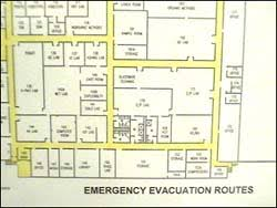 Evacuation Plan Sample Evacuation Plans And Procedures Etool Emergency Action