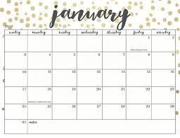 2017 calendars by month january 2018 calendar yearly printable calendar