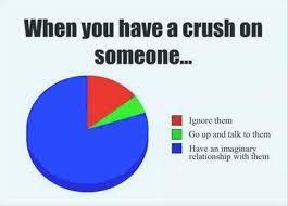 Crush on someone Ignore them.. Go n Talk to... via Relatably.com