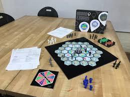 Sean Alderdice - Urban Exodus Board Game