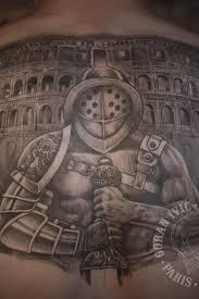 Gladiator Tattoo Back Goran Ivic