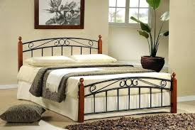 Wood And Metal Bed Metal Wood Bed Image Of Modern Rustic Metal Bed ...