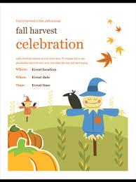 Fall Festival Flyers Template Free Harvest Festival Flyer Template Under Fontanacountryinn Com