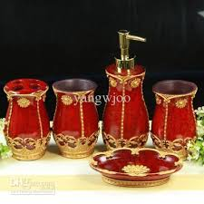 red glass bathroom accessories. Red Bathroom Accessories Ebay Glass