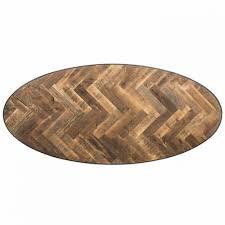 Esstisch Oval Schwarz Tisch Schwarz Länge 255 Cm