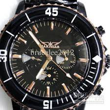 cheap jaragar famous brand watches men mechanical black leather see larger image