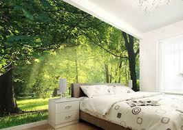 forest bedroom wallpaper designs