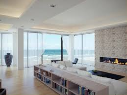 Home Interiors:Beach Home Decor Beautiful With Ultramodern Street Presence  Beach House White Lliving Room