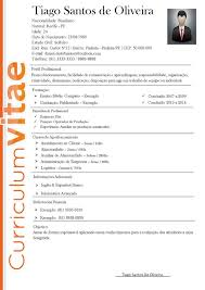 Awesome Modelo De Curriculum Vitae Filetype Doc Pictures Resume