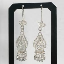 filigree dangle silver earrings chandelier earrings sterling silver earrings silver dangle earrings handmade filigree earrings dangle earrings