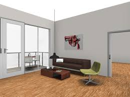 office room planner. Rendered Image: Kitchen Living Room Office Planner
