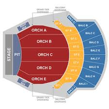 Altria Theater Richmond Tickets Schedule Seating Chart