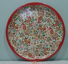Daher Decorated Ware Tray Made In England Vintage daher decorated ware 60 6060 metal paisley serving tray 4