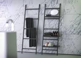 Modern Bathroom Accesories K Stone Modern Bathroom Accessories Dark Colour Ladder Hang